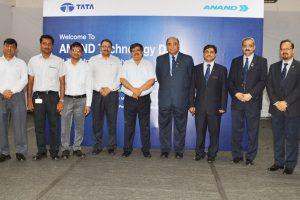 Senior dignitaries of Tata Motors and ANAND Group at ANAND Technology Day at Tata Motors,