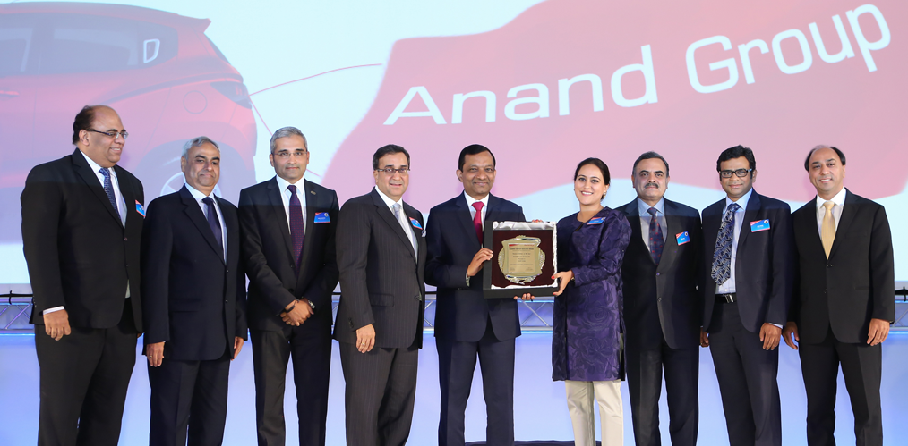 Mahindra Supplier Excellence Awards for ANANDImage