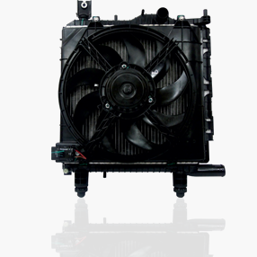 Engine Cooling Module  (Radiator with Fan Motor Shroud)Image
