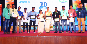 Valeo Friction Materials India Celebrates 20 Years Anniversary