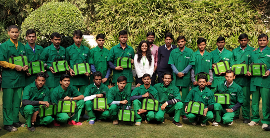 SNS Foundation and Schneider Electric India kicks off charitable season