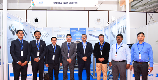 Gabriel India presented at the third edition of Inno Rail India 2018