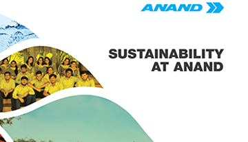 SUSTAINABILITY AT ANAND
