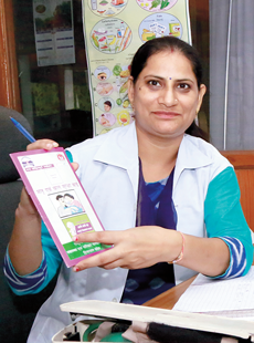 A graduate from Punjab University and a diploma in Nursing, Neelam had to leave her job when she got married.