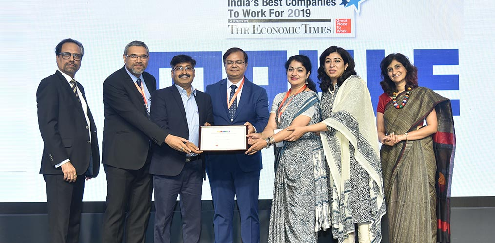 Recognition by Great Place to Work® IndiaImage