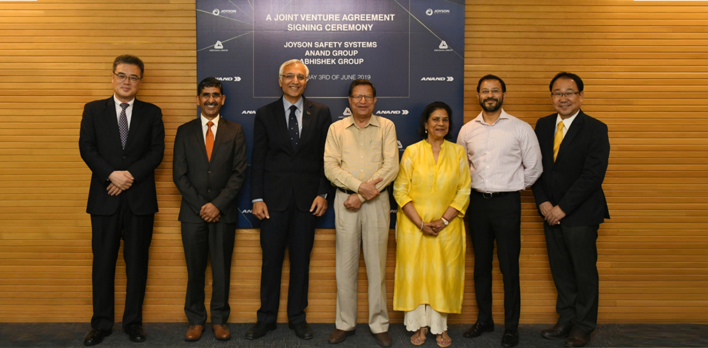 ANAND Group signs JV with Joyson Safety SystemsImage
