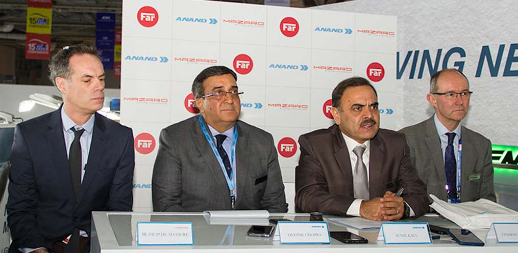 ANAND Group Announces Collaboration with FAR and MazaroImage